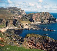 Walking (Hiking) Tours of Scotland: Walking Mull of Oa Islay