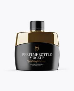 Matte Perfume Bottle Mockup