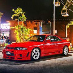 Nissan Skyline Gtr R33, Nissan R33, R33 Gtr, Tuner Cars, Jdm Cars, Japanese Cars, Modified Cars, Dream Cars, Jdm Engines