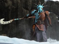 Valka -- How to Train Your Dragon 2.
