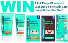 Win 1 Of 9 A Full Range Of Newtons Labs Deep T-Zone Skin Care Products For Clear Skin #Clear Skin #Skin Care #Skincare #Win #FreeSkinCareProducts