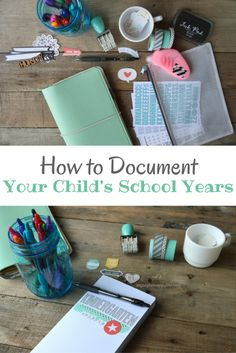 How to Document Your Childs School Years | My Big Fat Happy Life - Featured on #HomeMattersParty 100