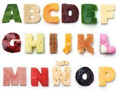 Delicious Alphabet - Good Food - Karen Cantú