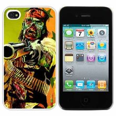 Zombie Outlaw Fashion Design Hard Case Cover Skin Protector for Iphone 4 4s Iphone4 At