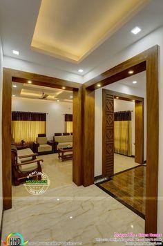 House Arch Design, Room Door Design, Kerala House Design, Room Design Bedroom, Kitchen Room Design, Home Room Design, Home Interior Design, Living Room Partition Design, Room Partition Designs