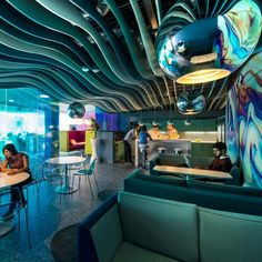 Image 17 of 23 from gallery of Top 20 A' Design Award Winners. Courtesy of A' Design Awards Google Office, Grand Canal, Modern Office Design, Modern Interior Design, Office Designs, Workplace Design, Contemporary Office, Corporate Design, Modern Decor