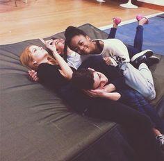 Photo: Skai Jackson With Debby Ryan, Cameron Boyce