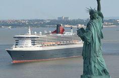 Cunard's Fashion Week on a Cruise Ship