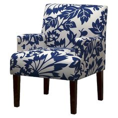 Seedling by Thomas Paul Arm Chair - Copenhagen Blue