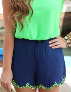 I like the style of these shorts, only longer.