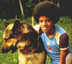 Dog and special Michael JACKSON