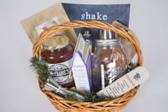 The Ultimate Cocktail Gift Basket