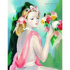 Marie Laurencin Art for Sale   Marie LAURENCIN (1885~1956 - FRANCE) 마리 로랑생