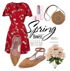 """""""Spring Dress"""" by pramesvvari on Polyvore featuring Guerlain, Zolà, Nails Inc. and springdresses"""
