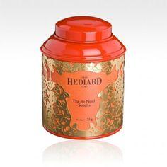 Hediard Christmas Tea Sencha. Decadent, luxurious, classy.