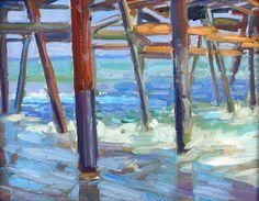 Bernard V. San Clemente Pier, Wall Art, Artist, Artwork, Pictures, Painting, Photos, Work Of Art, Auguste Rodin Artwork