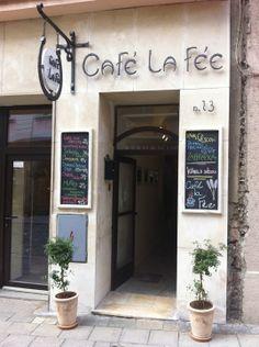 Café La Fée ve městě Olomouc