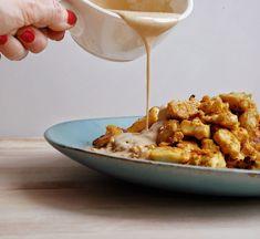 Tofu Recipes, Cooking Recipes, Healthy Recipes, Vegan Vegetarian, Vegetarian Recipes, Tofu Sauce, Yummy Veggie, Vegan Sauces, Great Recipes