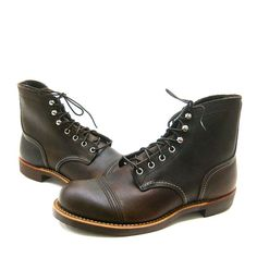 LOGAN CAP TOE BOOTS -- As part of its 150th anniversary collection ...