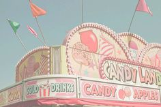 Candy carnival themed weddings sounds awesome!