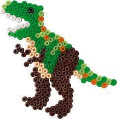 Dinosaur perler beads SES