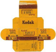 1957 kodak wrapper - love this yellow!