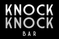Secret snaps from Knock Knock, a conceptual speakeasy bar hidden in the side streets of Cape Town. Speakeasy Bar, Pop Up Bar, Experiential, Cape Town, Knock Knock, Typography, Letterpress, Letterpress Printing, Printing