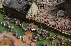 A stunning diorama of the battle of Waterloo has been restored to its former glory after a painstaking cleaning operation to remove nearly 50 years of dust Waterloo 1815, Battle Of Waterloo, Bataille De Waterloo, First French Empire, Scum Of The Earth, French History, Star Trek Ships, British Soldier, Military Diorama