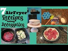 AIR FRYER ACCESSORIES! - YouTube
