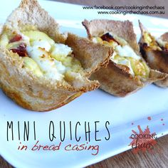 Lunchbox Food Ideas Archives - Page 2 of 2 - Cooking in the Chaos Sliced Ham, Lunch Box Recipes, Slice Of Bread, Savory Snacks, Appetisers, Food Inspiration, Mini Quiches, Bellini, Eat