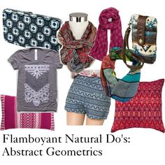 """Flamboyant Natural Guidelines #6: Prints"" by furiana on Polyvore"