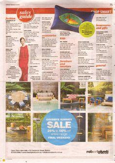 Shop Smart: The Sunday Telegraph – March 15, 2015 Fluoro Fishy Multi Cushion – Page 75