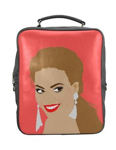 PRETTY POP STAR BACKPACK illustration by kayciwheatley on Etsy
