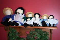 Carol Ann's Amish Dolls