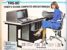 Tandy Electronics (Nice Eames office chair)