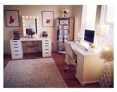 Yes!  Makeup AND Office room!  I need.