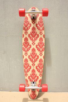 Handmade longboard skateboard  Complete Duke deck by PcoBoardCo, $320.00