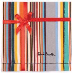 Paul Smith Multi-Stripe Handkerchief