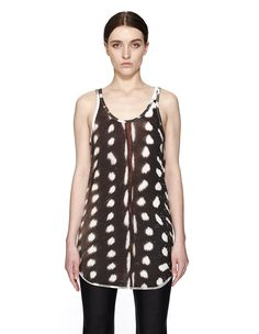 Cotton tank top by If Six Was Nine — SVMoscow