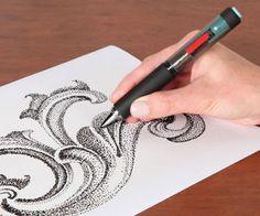 Ink Dot Generating Electronic Pen #LavaHot http://www.lavahotdeals.com/us/cheap/ink-dot-generating-electronic-pen/125092