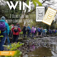 Win two tickets to the Kerry Camino Walking Festival! Bank Holiday Weekend, Ticket, Ireland, Competition, Hiking, Adventure, Travel, Trips, Viajes
