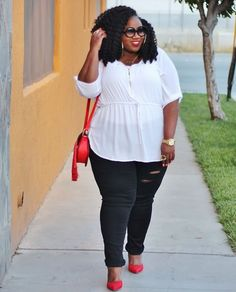 Plus Size Fashion for Women - LACE N LEOPARD: Comfy Chic
