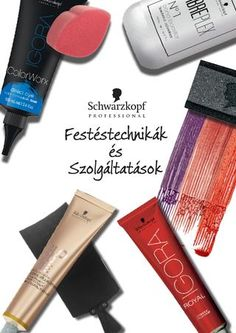 Schwarzkopf Professional Festéstechnikák és Szolgáltatások
