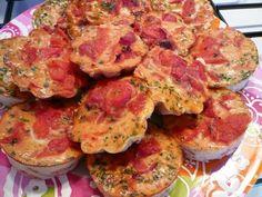 Flan tomates et poivrons