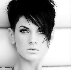 My next haircut and color!!!! LOVE IT... Gonna go shorter and back dark!!