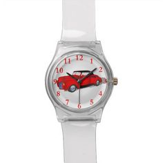 1940 Ford Standard Convertible - Red Wristwatches