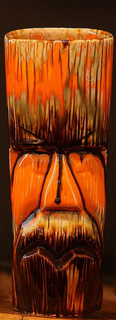 Hobbyist Johnny Sens Zig-Zag Mouth Tiki Mug