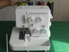 Using a Serger.  Let me teach you the basics of using a serger / overlocker with my FREE online article and video tutorial, only at http://www.fashionsewingblog.com