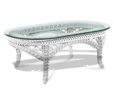 Wicker End Table Special Price Via @wickerparadise #table #wicker #small  #white Www.wickerparadise.com | Wicker Tables | Pinterest | Wicker Table