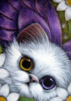 Persian Fairy Cat ~ by Cyra Cancel